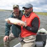 Keith with a nice Madison river Brown trout