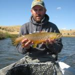 When Hebgen broke found these trout on the Lower Madison river