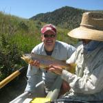 High water and big browns on the Lower Madison river
